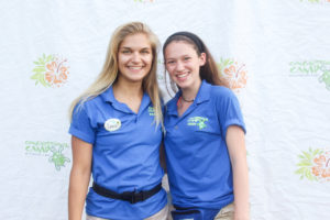 camp counselors smiling