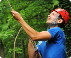 counselor belaying